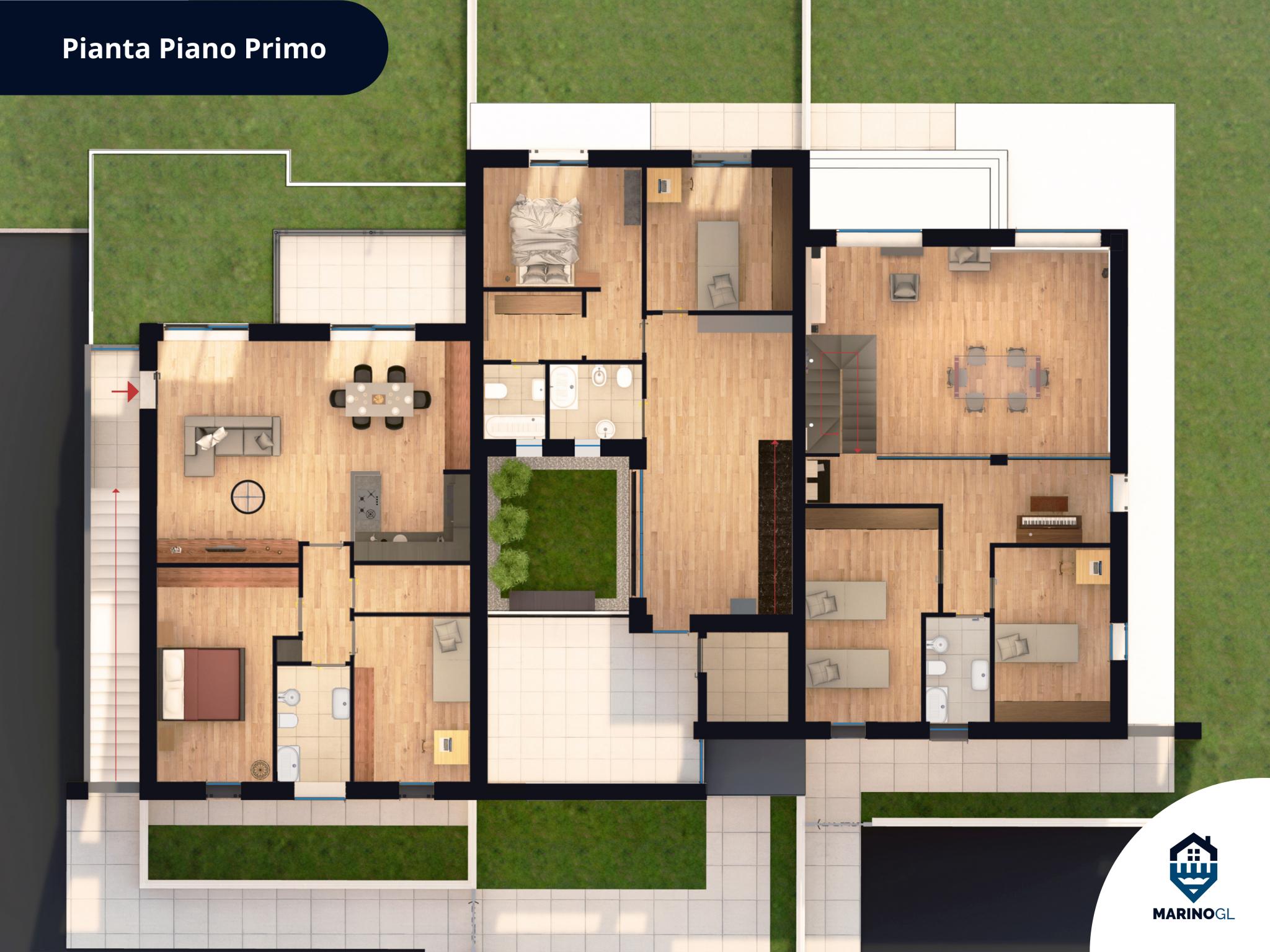 Piantina_piano-primo_villa_Marino-GL